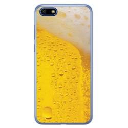Funda Gel Tpu para Huawei Honor 7S / Y5 2018 Diseño Cerveza Dibujos