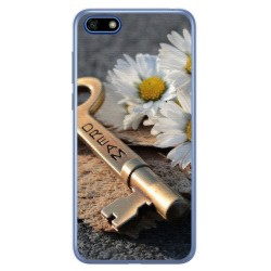 Funda Gel Tpu para Huawei Honor 7S / Y5 2018 Diseño Dream Dibujos