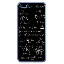 Funda Gel Tpu para Huawei Honor 7S / Y5 2018 Diseño Formulas Dibujos