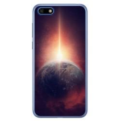 Funda Gel Tpu para Huawei Honor 7S / Y5 2018 Diseño Tierra Dibujos