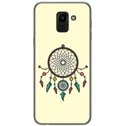 Funda Gel Tpu para Samsung Galaxy J6 (2018) Diseño Atrapasueños Dibujos
