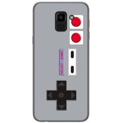 Funda Gel Tpu para Samsung Galaxy J6 (2018) Diseño Consola Dibujos