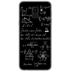 Funda Gel Tpu para Samsung Galaxy J6 (2018) Diseño Formulas Dibujos