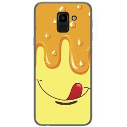 Funda Gel Tpu para Samsung Galaxy J6 (2018) Diseño Helado Vainilla Dibujos
