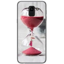 Funda Gel Tpu para Samsung Galaxy J6 (2018) Diseño Reloj Dibujos