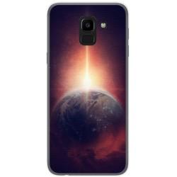 Funda Gel Tpu para Samsung Galaxy J6 (2018) Diseño Tierra Dibujos