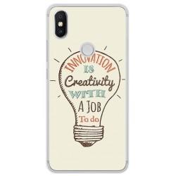 Funda Gel Tpu para Xiaomi Redmi S2 Diseño Creativity Dibujos