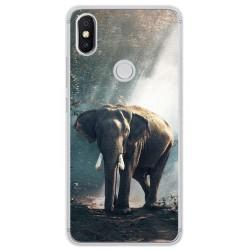 Funda Gel Tpu para Xiaomi Redmi S2 Diseño Elefante Dibujos