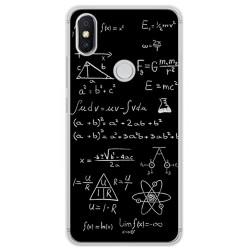 Funda Gel Tpu para Xiaomi Redmi S2 Diseño Formulas Dibujos