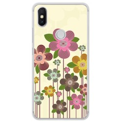 Funda Gel Tpu para Xiaomi Redmi S2 Diseño Primavera En Flor Dibujos