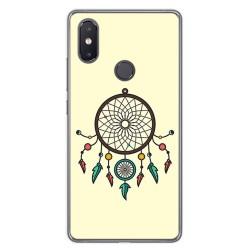 Funda Gel Tpu para Xiaomi Mi 8 Se Diseño Atrapasueños Dibujos