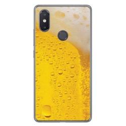 Funda Gel Tpu para Xiaomi Mi 8 Se Diseño Cerveza Dibujos