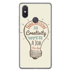 Funda Gel Tpu para Xiaomi Mi 8 Se Diseño Creativity Dibujos