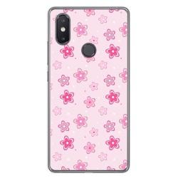 Funda Gel Tpu para Xiaomi Mi 8 Se Diseño Flores Dibujos