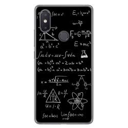 Funda Gel Tpu para Xiaomi Mi 8 Se Diseño Formulas Dibujos