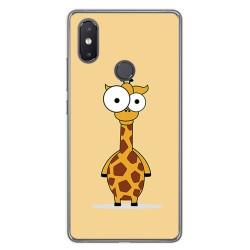 Funda Gel Tpu para Xiaomi Mi 8 Se Diseño Jirafa Dibujos