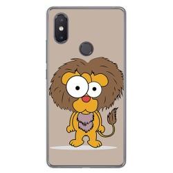 Funda Gel Tpu para Xiaomi Mi 8 Se Diseño Leon Dibujos