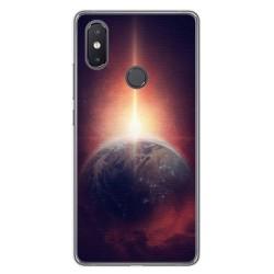 Funda Gel Tpu para Xiaomi Mi 8 Se Diseño Tierra Dibujos