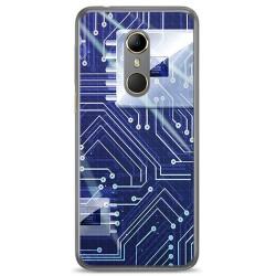 Funda Gel Tpu para Vodafone Smart N9 Diseño Circuito Dibujos
