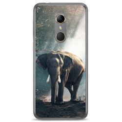 Funda Gel Tpu para Vodafone Smart N9 Diseño Elefante Dibujos