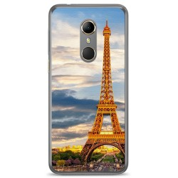 Funda Gel Tpu para Vodafone Smart N9 Diseño Paris Dibujos