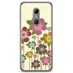 Funda Gel Tpu para Vodafone Smart N9 Diseño Primavera En Flor Dibujos