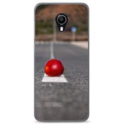 Funda Gel Tpu para Vodafone Smart N9 Lite Diseño Apple Dibujos