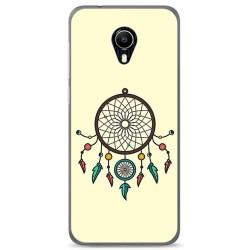 Funda Gel Tpu para Vodafone Smart N9 Lite Diseño Atrapasueños Dibujos