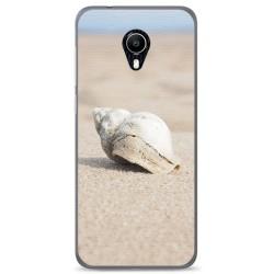 Funda Gel Tpu para Vodafone Smart N9 Lite Diseño Concha Dibujos