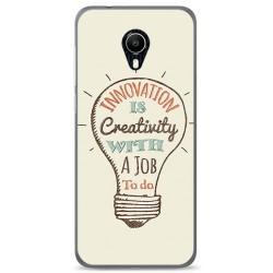 Funda Gel Tpu para Vodafone Smart N9 Lite Diseño Creativity Dibujos
