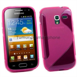 Funda Gel Tpu Galaxy Ace 2 I8160 S Line Color Rosa