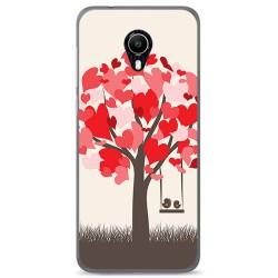 Funda Gel Tpu para Vodafone Smart N9 Lite Diseño Pajaritos Dibujos