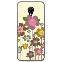 Funda Gel Tpu para Vodafone Smart N9 Lite Diseño Primavera En Flor Dibujos