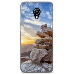Funda Gel Tpu para Vodafone Smart N9 Lite Diseño Sunset Dibujos