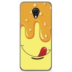 Funda Gel Tpu para Vodafone Smart N9 Lite Diseño Helado Vainilla Dibujos