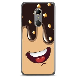 Funda Gel Tpu para Vodafone Smart N9 Diseño Helado Chocolate Dibujos