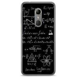 Funda Gel Tpu para Vodafone Smart N9 Diseño Formulas Dibujos