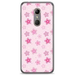 Funda Gel Tpu para Vodafone Smart N9 Diseño Flores Dibujos