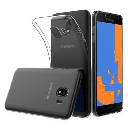 Funda Gel Tpu Fina Ultra-Thin 0,5mm Transparente para Samsung Galaxy J4 (2018)