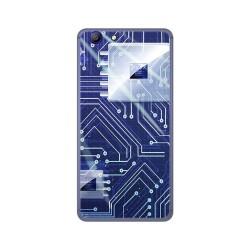 Funda Gel Tpu para Elephone R9 Diseño Circuito Dibujos