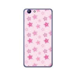 Funda Gel Tpu para Elephone R9 Diseño Flores Dibujos