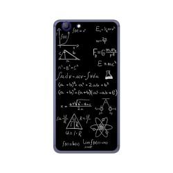Funda Gel Tpu para Elephone R9 Diseño Formulas Dibujos