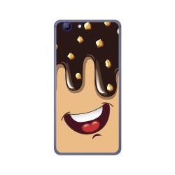 Funda Gel Tpu para Elephone R9 Diseño Helado Chocolate Dibujos