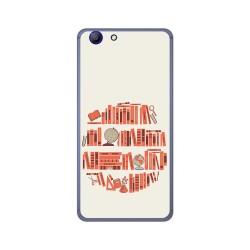 Funda Gel Tpu para Elephone R9 Diseño Mundo Libro Dibujos