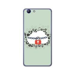 Funda Gel Tpu para Elephone R9 Diseño Nube Dibujos
