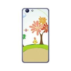 Funda Gel Tpu para Elephone R9 Diseño Primavera Dibujos