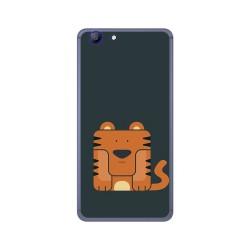 Funda Gel Tpu para Elephone R9 Diseño Tigre Dibujos