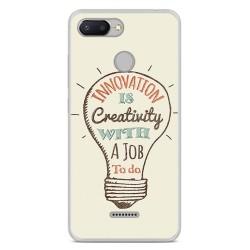 Funda Gel Tpu para Xiaomi Redmi 6 Diseño Creativity Dibujos