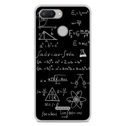 Funda Gel Tpu para Xiaomi Redmi 6 Diseño Formulas Dibujos