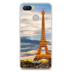 Funda Gel Tpu para Xiaomi Redmi 6 Diseño Paris Dibujos